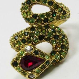 Kenneth Jay Lane Snake Ring
